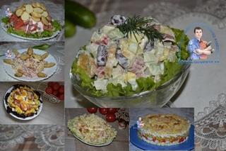 Вкусные салаты с сухариками рецепты с фото