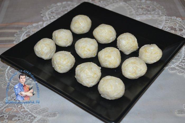 Закуска сырные шарики
