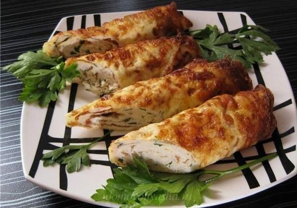 Бризоль из куриного филе