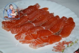Как засолить красную рыбу с водкой
