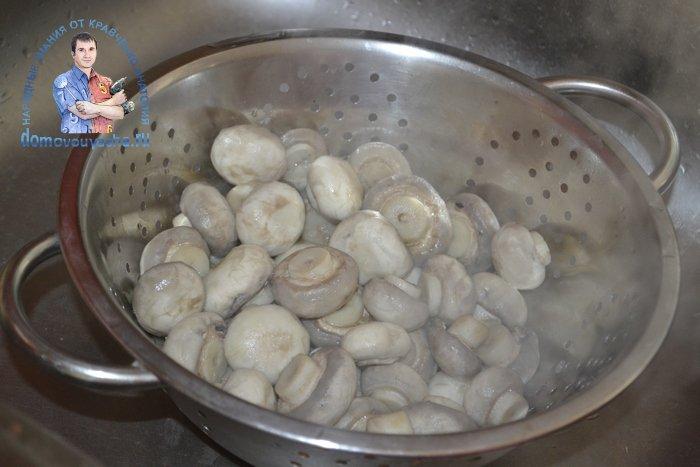 Маринованные шампиньоны очень вкусный рецепт быстрого приготовления