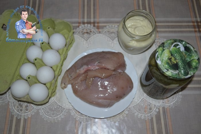 Салат конкурент Оливье