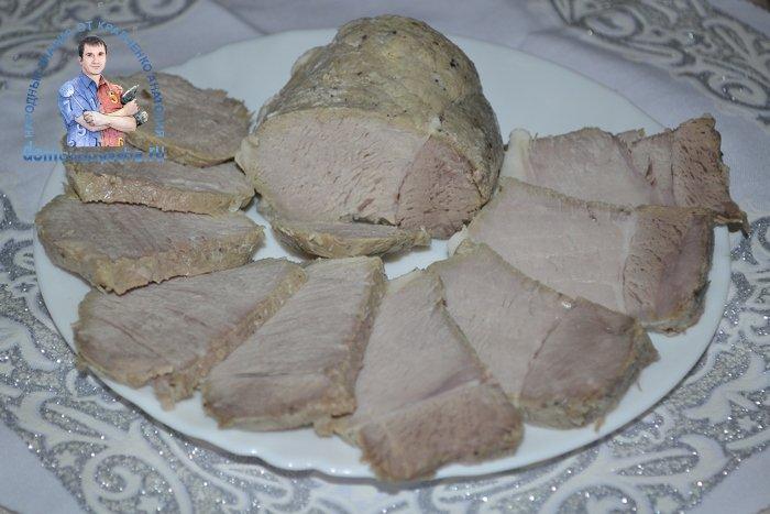 Буженина вареная в пакете рецепт с фото