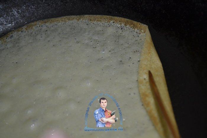 Самые вкусные блины на 1 литр молока