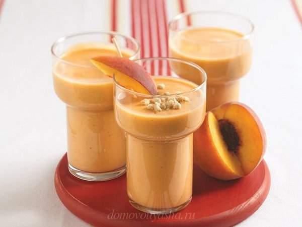 Смузи из персиков