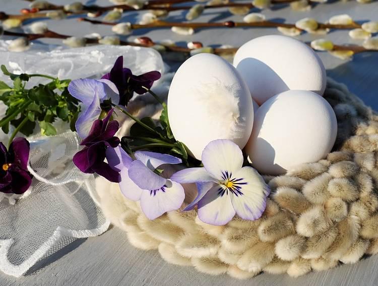 Красим яйца чтобы не лопнули