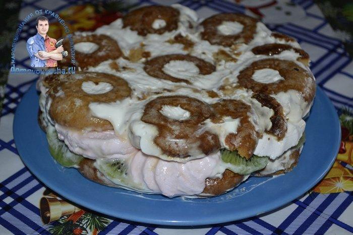 Торт из пряников и зефира