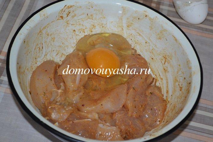 Куриные наггетсы из куриной грудки в духовке в домашних условиях