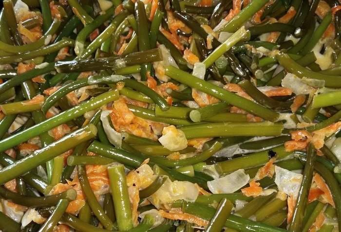 Стрелки чеснока: приготовление вкусных блюд с фото