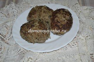 Котлеты из говяжьего фарша: рецепт без хлеба