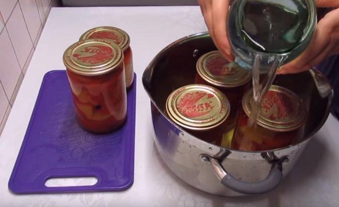 маринованный перец с медом