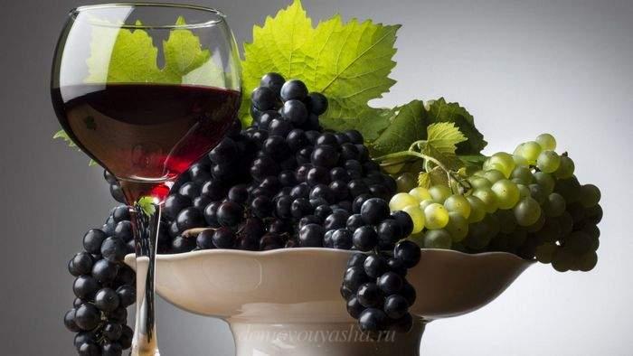 Как сделать виноградное вино из винограда в домашних условиях