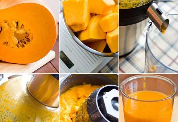 Как сделать тыквенный сок в домашних условиях на зиму