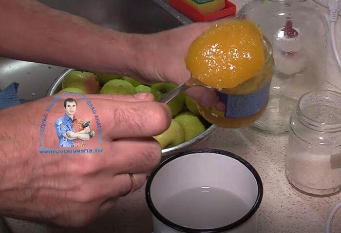 Моченые яблоки в банках рецепт на 3-х литровую банку на зиму