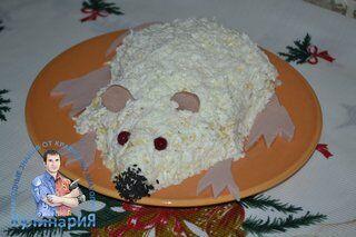 Салат крыса