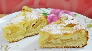 Яблочный пирог который во рту тает