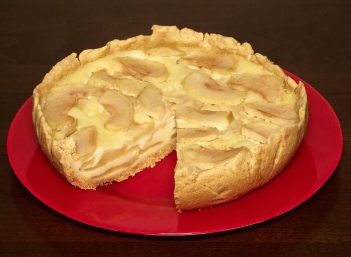Пирог с яблоками который тает во рту