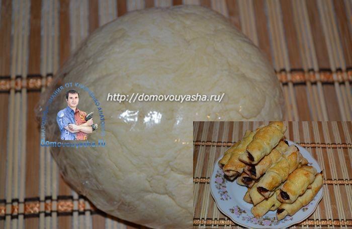 Тесто для рогаликов на маргарине и кефире