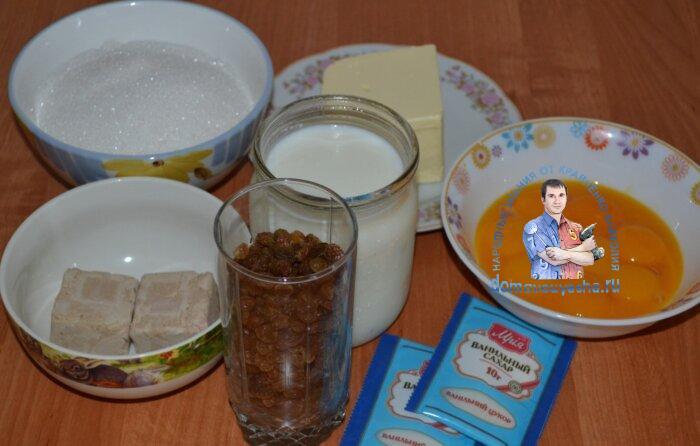 Рецепт бабушкиных куличей