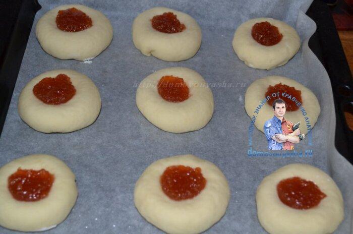 Вкусные ватрушки с творогом в духовке