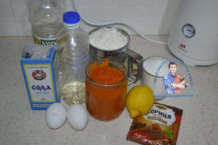 Простой тыквенный кекс в духовке