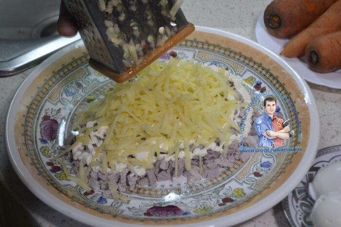 Салат бычок рецепт с фото