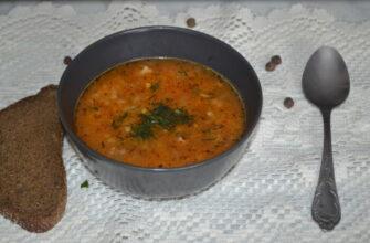 Как приготовить суп харчо со свининой