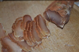 Как приготовить вяленое мясо из куриной грудки