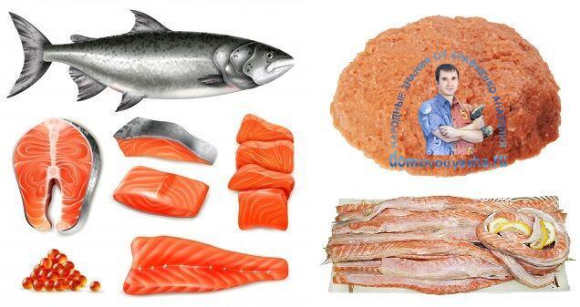 Намазка на бутерброды из красной рыбы