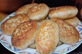 Котлеты из фарша свинины с картошкой и хлебом